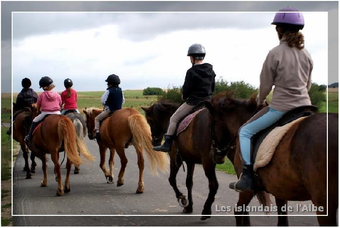 En promenade à cheval